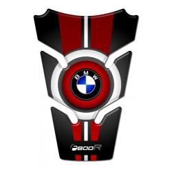 BMW Tank Pad - BMW F800R Black Red Style