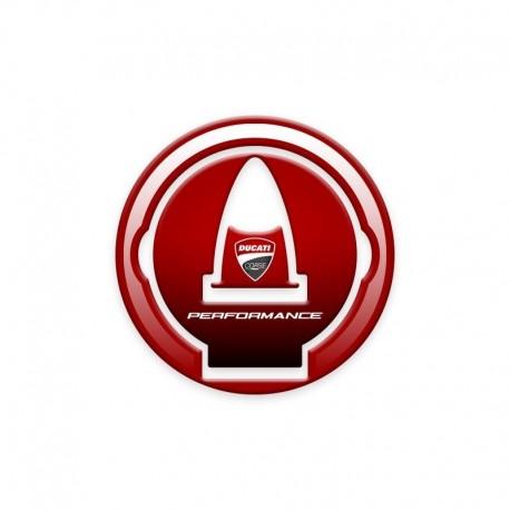 Ducati Tank Filler Cap Protection Red Style - Ducati Monster