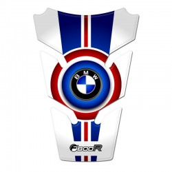 BMW Tank Pad - F800R - Red and Blue Style