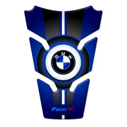 BMW Tank Pad F800r Blue and White style 2015
