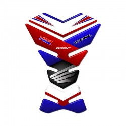 Honda Tank Pad - CBR 650F Blue and Red Style