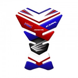 Honda Tank Pad - CBR 300R Blue and Red Style
